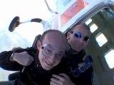 Sébastien BLANC saut en parachute pamiers 11 septembre 2011