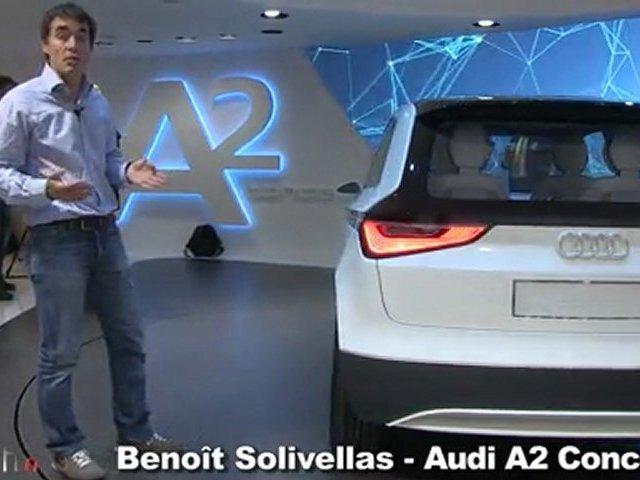 Audi Urban et Audi A2 Concept
