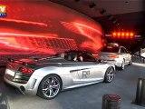 Francfort : gigantisme des stands du Salon de l'auto
