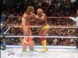 004. The Ultimate Warrior vs. Hulk Hogan (WrestleMania VI 1990 WWF Intercontinental Championship and WWF Championship)