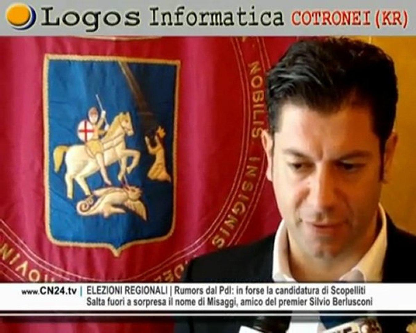 CN24 | 180secondi del 14 NOVEMBRE 2009 |  L'informazione calabrese in soli tre minuti