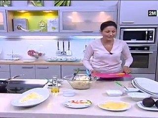 salade pâtes et fruits mer par choumicha