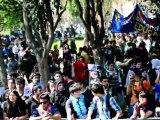 Estudiantes chilenos marchan en Santiago