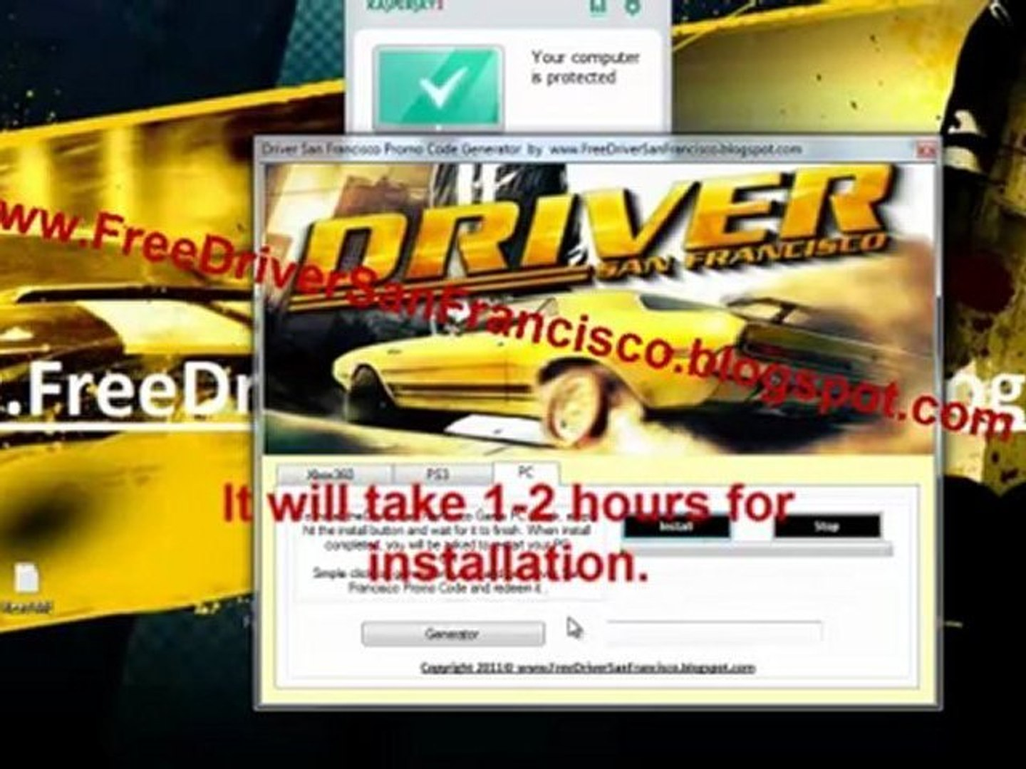 Driver San Francisco Code Generator Free For Xbox 360 And Ps3 Video Dailymotion