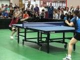 Championnat de France de tennis de table PRO A Féminin SA Souché Niort contre Joué les Tours