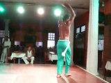 1_ Démonstration de Capoeira (solo) au Brésil à Salvador