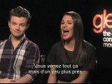 Glee On Tour le film 3D - L'entrée des artistes