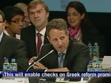 US Treasury chief Geithner in key eurozone talks