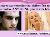 acne scar repair - natural scar removal - scar solution