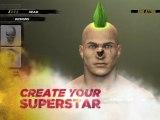 WWE12 - Trailer sur la création des persos et des rings