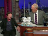 "David Letterman - Michael J. Fox's ""Future Shoes"""