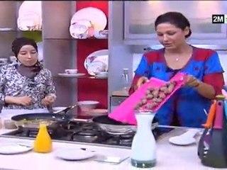 Petit lait chhiwat choumicha 2012 kefta jus orange poivrons rouge et poivron vert | choumicha 2012 kefta au poivron rouge et poivrons vert et jus