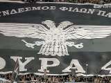 PAOK Tottenham HD (πλανα απο αγγλικο καναλι εκθειάζουν την κερκίδα μας)