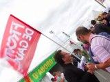 Jean-Luc Mélenchon offre le programme partagé à trois candidats de la primaire socialiste