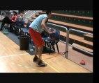 Séance physique avec elastiques/ Preparation physique basket/ preparation physique