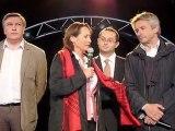 Ségolène Royal s'adresse aux Caennais à la foire de Caen