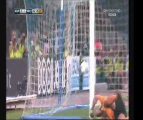 Napoli-Milan 3-1 Highlights Carlo Alvino Sky HD Terza Giornata  Serie A 2011/2012