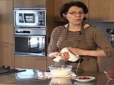 la Cuisine d'Anne Marie :  mousse chocolat banc & framboises