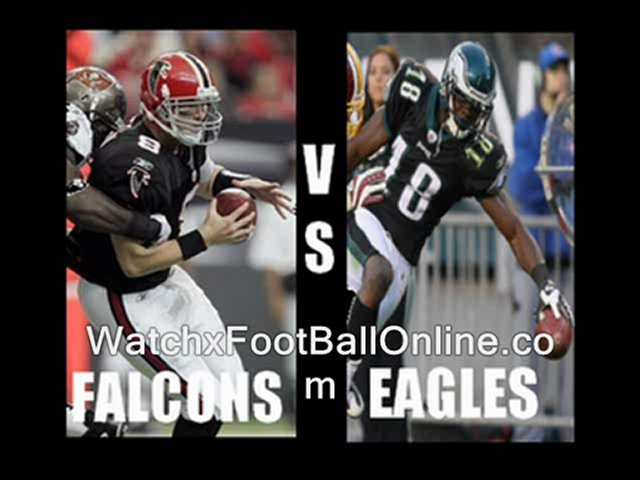 watch nfl Atlanta Falcons vs Philadelphia Eagles live streaming