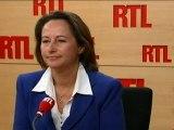 DSK: réactions de Ségolène Royal et Arnaud Montebourg