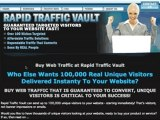 Buy Web Traffic Available at Rapid Traffic Vault, Pick up More Traffic and also Unique Visitors At A Site