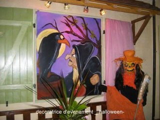 Halloween-decoration Halloween- decoratrice fête