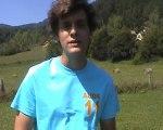 Franck MIRO, Responsable Départemental des Jeunes Populaires de l'Aude, Belcaire 10/09/2011