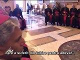 Benedict al XVI-lea: Biserica este prietena celor săraci