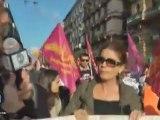 Precari Roma manifestazione nazionale contro i tagli scuola Napoli