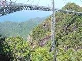 Le cable-car et le pont de Langkawi