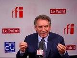Mardi Politique : François BAYROU, président du Mouvement Démocrate (MODEM)