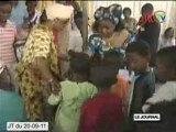 Don aux veuves, orphelins et enfants vulnérables