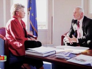 Interview de Viviane Reding par Alain Bazot : le droit à l'oubli