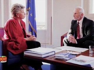 Interview de Viviane Reding par Alain Bazot : le roaming