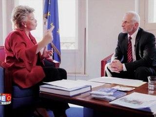 Interview de Viviane Reding par Alain Bazot : l'harmonisation maximale