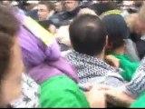 Palestine libre!-9 juillet 2011,Paris,Témoignage de Michel,Juif de 85 ans