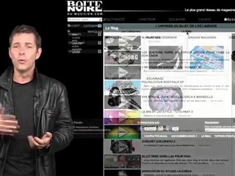 Présentation du nouveau site (La Boite Noire)