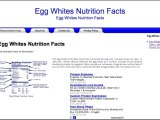 Learning about egg whites nutrition facts will make anyone the more beneficial understanding with the reason someone really should feature egg whites in your diet.