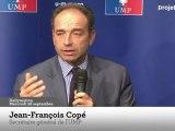 """Copé revanchard traque les """"blagues lourdes traditionnelles"""" de Hollande"""