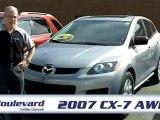 2007 Mazda CX-7 AWD chez Boulevard Cadillac Chevrolet a Gati
