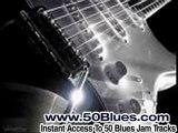Blues Guitar Backing Track in E - Texas Shuffle SRV Jam Styl