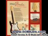 Blues Guitar Backing Track in Bm (B minor) - One Of The Top
