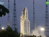 Décollage d'Ariane 5. Vol 204, 21 septembre 2011.