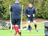Rugby: le XV de France, à deux jours du match contre les All Blacks