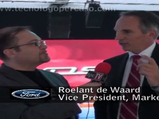 IAA Frankfurt INTERVISTA a Roelant de Waard VP Marketing Sales and Service Ford Europe