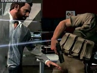 Trailer Pop Up de Max Payne 3