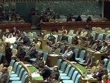 Les Occidentaux partent lors du discours d'Ahmadinejad à l'ONU
