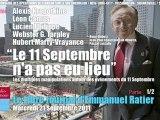 """Emmanuel Ratier: 1/2 - """"Le 11 Septembre n'a pas eu lieu"""" (Le Libre Journal, Radio Courtoisie, 21/09/2011)"""