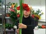 Un grand bouquet de fleurs signé Aquarelle