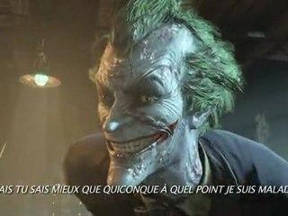 Joker trailer de Batman Arkham City
